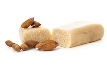 Marzipan Bar And Almonds Isola...