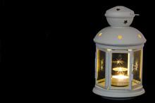 Lanterna Di Natale Con Candela...
