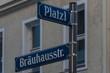 Straßenschilder in München