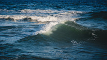 Close-up Of A Beautiful Wave. Wave Splash Details Abstract  Background