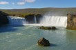 Wasserfall Godafoss auf Island