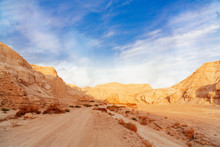 The Landscape Of Negev Desert