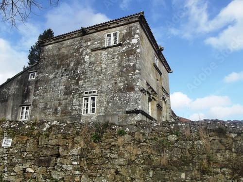 Fotografía  Construcción tradicional gallega