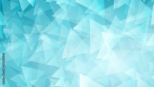 Light Blue Abstract Background Of Small Triangles Kaufen