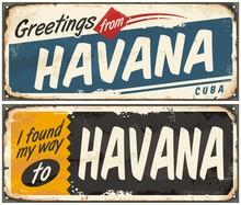 Greetings From Havana Cuba