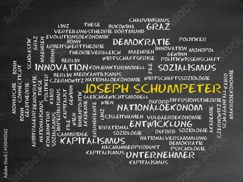 Fotografie, Obraz  Joseph Schumpeter
