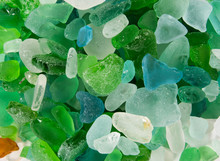 Glass Pieces Found In The Sea