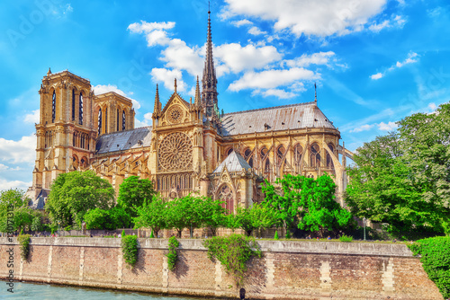 Notre Dame de Paris Cathedral, most beautiful Cathedral in Paris