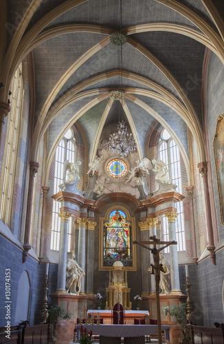 Interior of Franciscan Church, Bratislava, Slovakia, Europe Poster