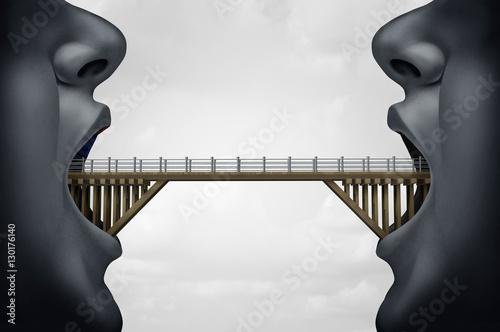 Fotografía  Concept of Building Bridges