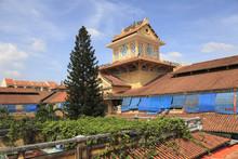 Clock Tower, Binh Tay Market, Cholon, Chinatown, Ho Chi Minh City (Saigon), Vietnam