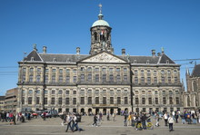 The Royal Palace, Built In 1648, Originally The Town Hall, Dam Square, Amsterdam, Netherlands
