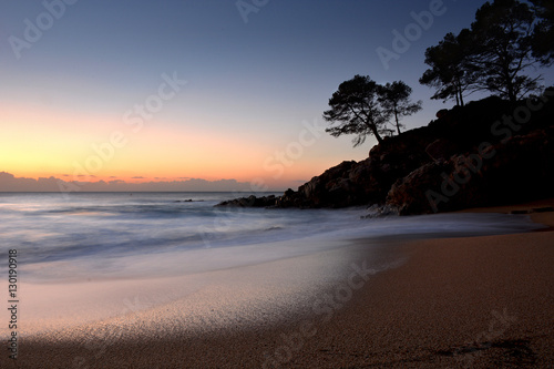 Dawn on the Costa brava Fototapete