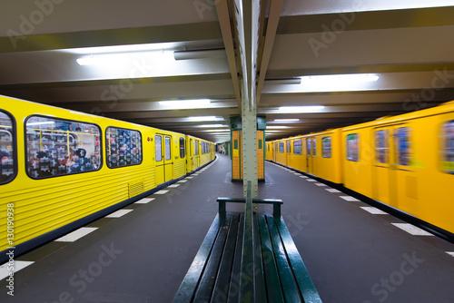 Zdjęcie XXL Berlin U-Bahn