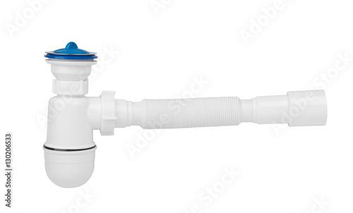 Valokuva  plastic siphon sink