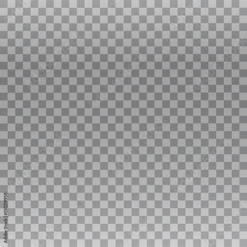 Fotografie, Obraz  Vector transparency grid with gradient and small squares.