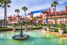 St. Augustine, Florida, USA Do...
