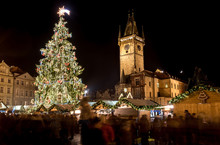 Prague Christmas Market, Old Town Square, Czech Republic