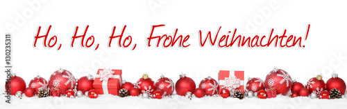 Ho Ho Ho Frohe Weihnachten.Ho Ho Ho Frohe Weihnachten Buy This Stock Photo And