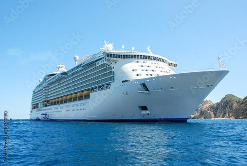 Fotografía  Luxury cruise ship in Mexico