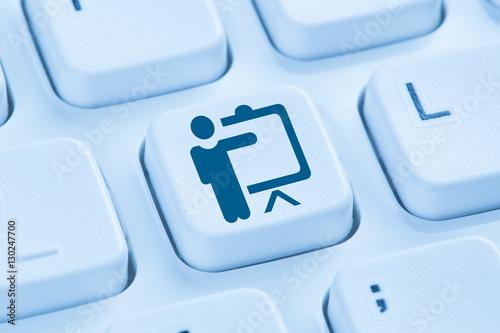 Fotografie, Obraz  Schulung Training lernen Coaching Bildung Workshop online Intern