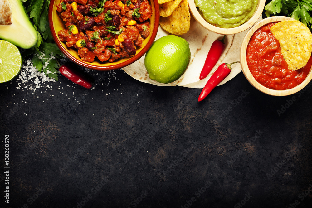 Fototapety, obrazy: Mexican food