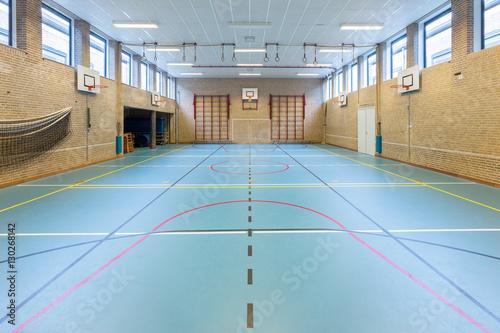 Photo sur Toile Fitness Interior dutch gymnasium for school sports