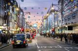 London Oxford Street, Christmas Day