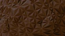Brown Chocolate Geometric Wall...