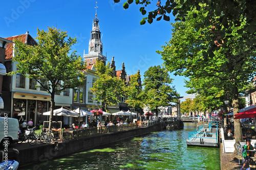 Staande foto Rotterdam Canali di Alkmaar, Olanda - Paesi Bassi