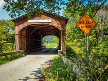 Hyde Covered Bridge, Randolph,...