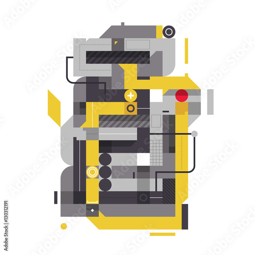 abstrakcyjny-wzor-ze-wspolczesnymi-elementami-industrialnymi