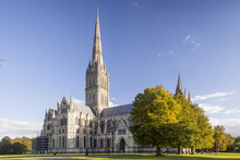 Salisbury Cathedral, Built In ...