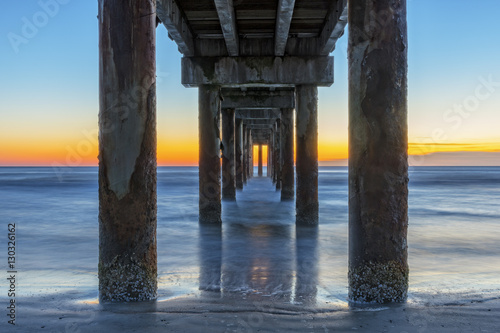 Photo Under The Boardwalk