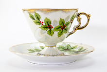 Tea Cup And Saucer With Christ...