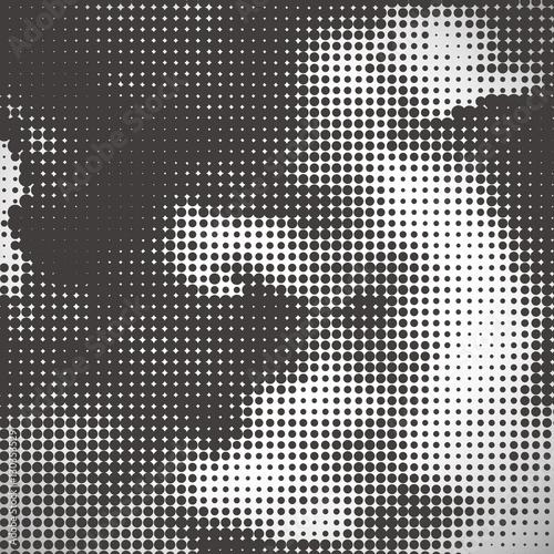 Fototapeta  abstract halftone background