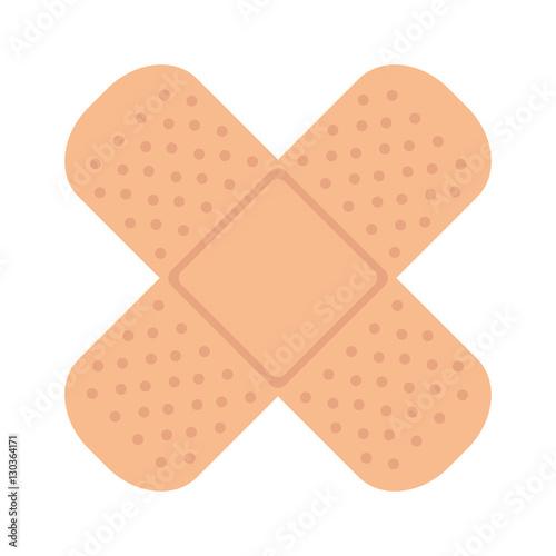 Photo bandage medical isolated icon vector illustration design