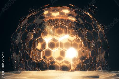 Fotografía Golden sphere