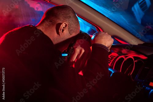Fotografija  Driver is caught driving under alcohol influence