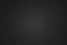 Texture Of Blackwood. Dark Background With Pattern Of Eben Or Grenadil Wood.