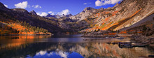 Lake Sabrina Fall Panorama