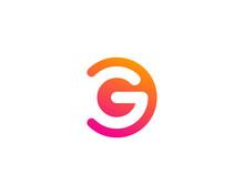 Letter G Modern Shape Logo Des...