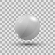 White 3d Sphere
