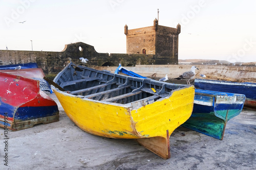 Photo  Essaouira harbour, Morocco, Africa