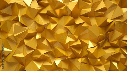 The bright, golden, gorgeous background. 3D illustration, 3D ren