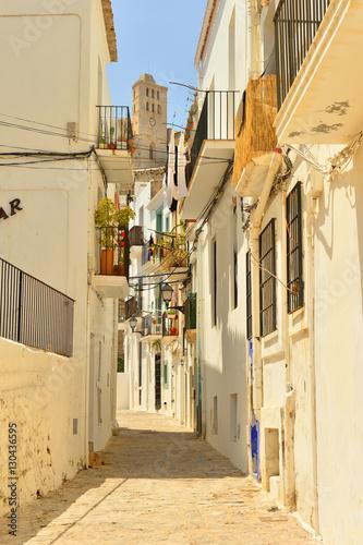 Ibiza, old town, UNESCO World Heritage Site, Ibiza, Balearic Islands, Spain, Mediterranean, Europe