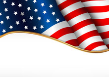 American Flag. Independence Da...