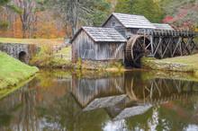 Mabry Mill, Blue Ridge Parkway In Virginia