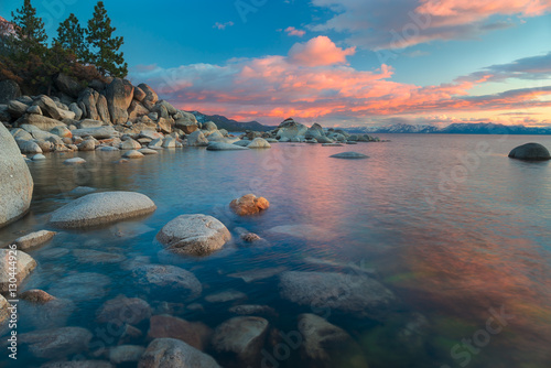 Northe Lake Tahoe Sunset Fototapet