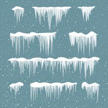 Snow Icicles Set